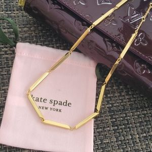 🎀Kate Spade New York Raise the Bar Necklace 18K